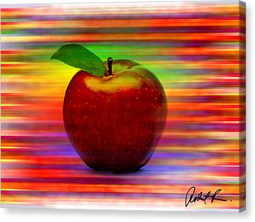 60x45 Print Or Canvas Wrap The Apple By Robert R Signed Prints Canvas Print