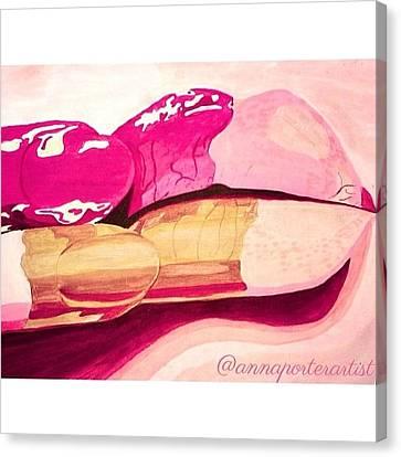 Sensuality Canvas Print by Anna Porter