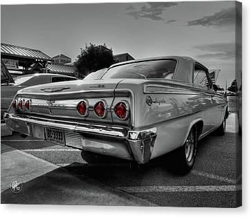 '62 Impala Ss 001 Canvas Print by Lance Vaughn