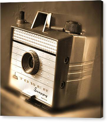 Classic Camera Canvas Print - 620 Camera by Mike McGlothlen