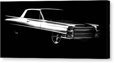 63 Coupe De Ville Canvas Print by motography aka Phil Clark