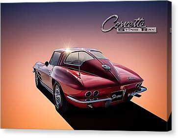 Window Canvas Print - '63 Stinger by Douglas Pittman