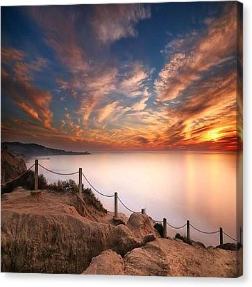 Instagram Photo Canvas Print by Larry Marshall