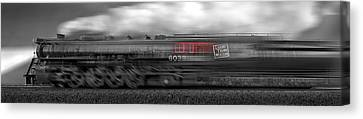 6339 On The Move Panoramic Canvas Print by Mike McGlothlen