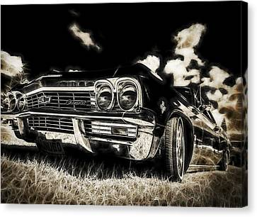 65 Chev Impala Canvas Print by motography aka Phil Clark