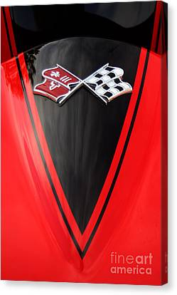 65 Sting Ray-torch Red-hood-8785 Canvas Print by Gary Gingrich Galleries