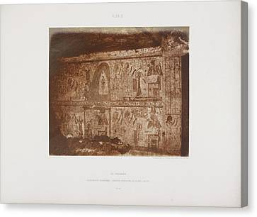Photograph Of The Egyptian Landscape Canvas Print