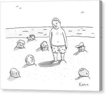New Yorker September 1st, 2008 Canvas Print