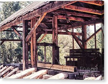 676 Sl Sutters Mill 4 Canvas Print by Chris Berry