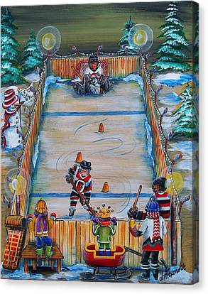 67's Captain In Training Canvas Print by Jill Alexander
