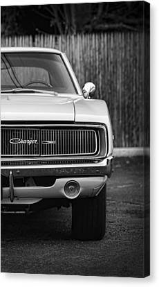 '68 Charger Canvas Print by Gordon Dean II