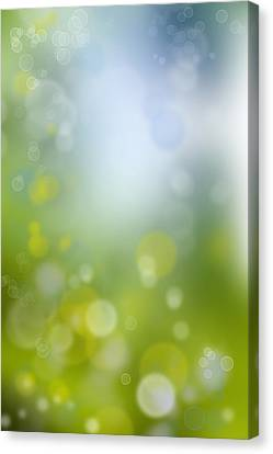 Abstract Background Canvas Print by Les Cunliffe