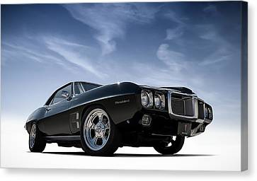 Pony Canvas Print - 69 Firebird by Douglas Pittman