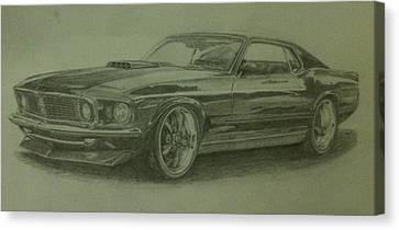 69 Mach 1  Canvas Print