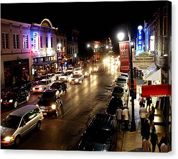 6th Street Austin Texas Canvas Print