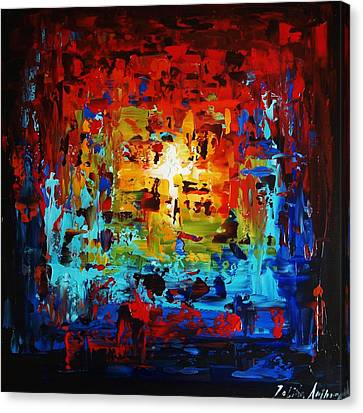 Abstract Painting  Canvas Print by Jolina Anthony
