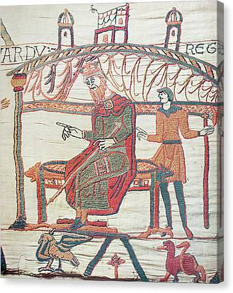 Bayeux Tapestry Canvas Print by Granger