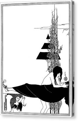 Platonic Canvas Print - Beardsley Salome by Granger