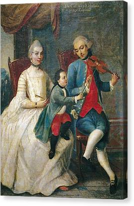 Cabrera, Miguel 1695-1768. Castes. From Canvas Print by Everett