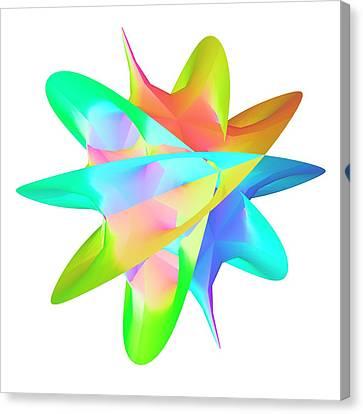 Calabai-yau Manifold Canvas Print by Pasieka