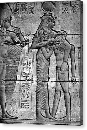 Cleopatra Vii (69-30 B.c.) Canvas Print