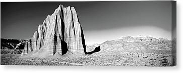 Cliff In Capitol Reef National Park Canvas Print