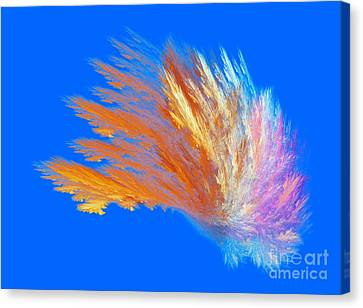 Colour Parade Canvas Print
