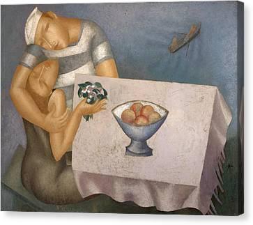 Date Canvas Print by Nicolay  Reznichenko