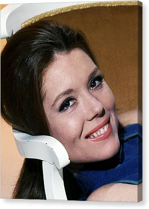 Diana Rigg In The Avengers  Canvas Print by Silver Screen