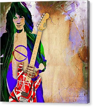 Eddie Van Halen Special Edition Canvas Print by Marvin Blaine