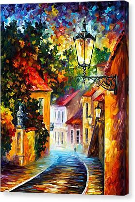 Evening Canvas Print by Leonid Afremov