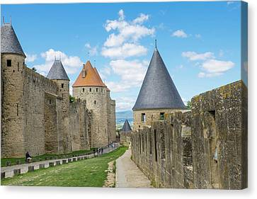 France, Languedoc-roussillon, Ancient Canvas Print