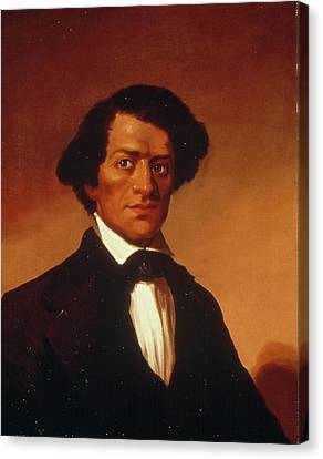 Frederick Douglass (c1817-1895) Canvas Print by Granger