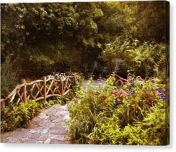 Garden Path Canvas Print by Jessica Jenney