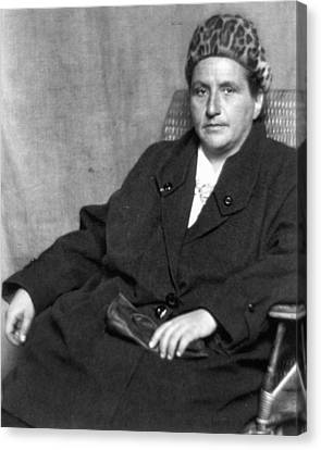 Man Ray Canvas Print - Gertrude Stein (1874-1946) by Granger