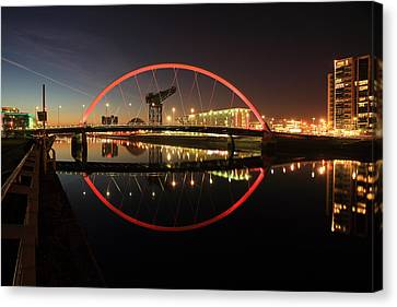 Glasgow Clyde Arc  Canvas Print by Grant Glendinning