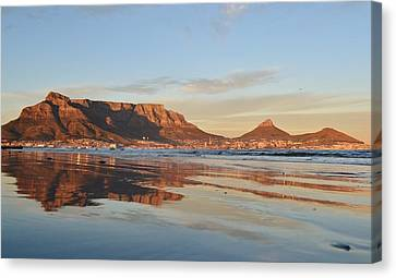 Good Morning Cape Town Canvas Print by Werner Lehmann