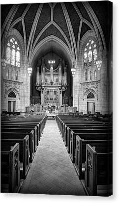 Hennepin Avenue Methodist Church Canvas Print by Amanda Stadther