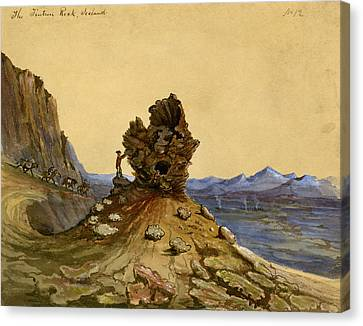 Iceland, 1862 Canvas Print by Granger
