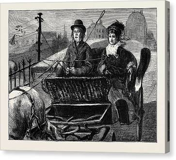 Image Accompanying The Law And The Lady A Novel Canvas Print by English School
