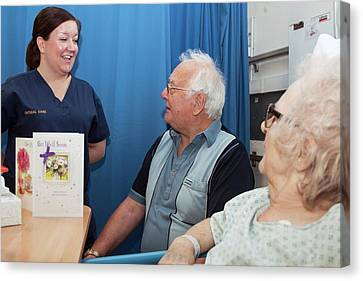 Intensive Care Unit Canvas Print by Life In View