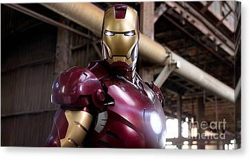 Iron Man Canvas Print by Marvin Blaine