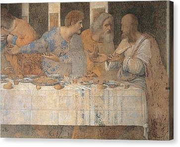 Last Supper Canvas Print - Italy, Lombardy, Milan, Refectory by Everett
