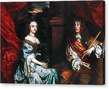 James II (1633-1701) Canvas Print by Granger