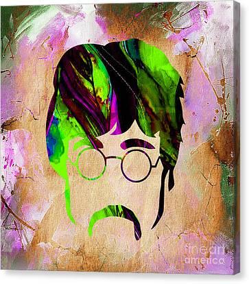 John Lennon Collection Canvas Print
