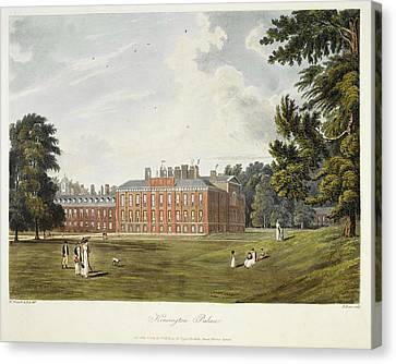 Kensington Palace Canvas Print by British Library