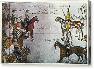 Little Bighorn, 1876 Canvas Print by Granger