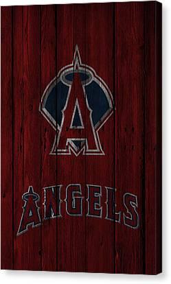 Los Angeles Angels Canvas Print by Joe Hamilton