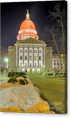 Madison Capitol Canvas Print by Steven Ralser