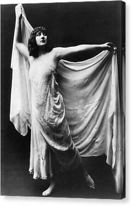 Mary Garden (1874-1967) Canvas Print